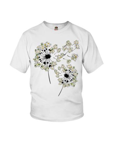 White sunflower Dandelion Puzzle