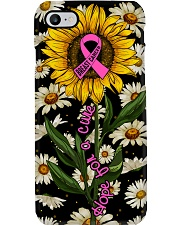 Breast cancer Awareness - Hope for a cure Phone Case i-phone-8-case