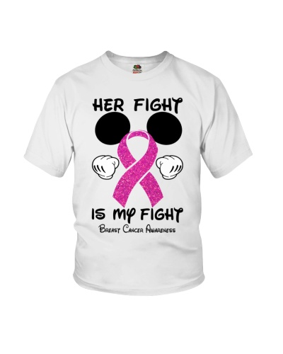Her fight is my fight - Breast cancer Awareness