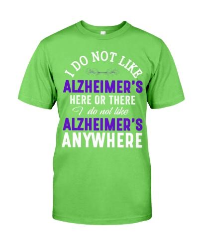 I do not like - Alzheimer's Awareness
