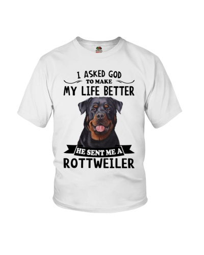 He sent me a Rottweiler