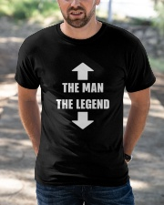 The Man The Legend Classic T-Shirt apparel-classic-tshirt-lifestyle-front-50