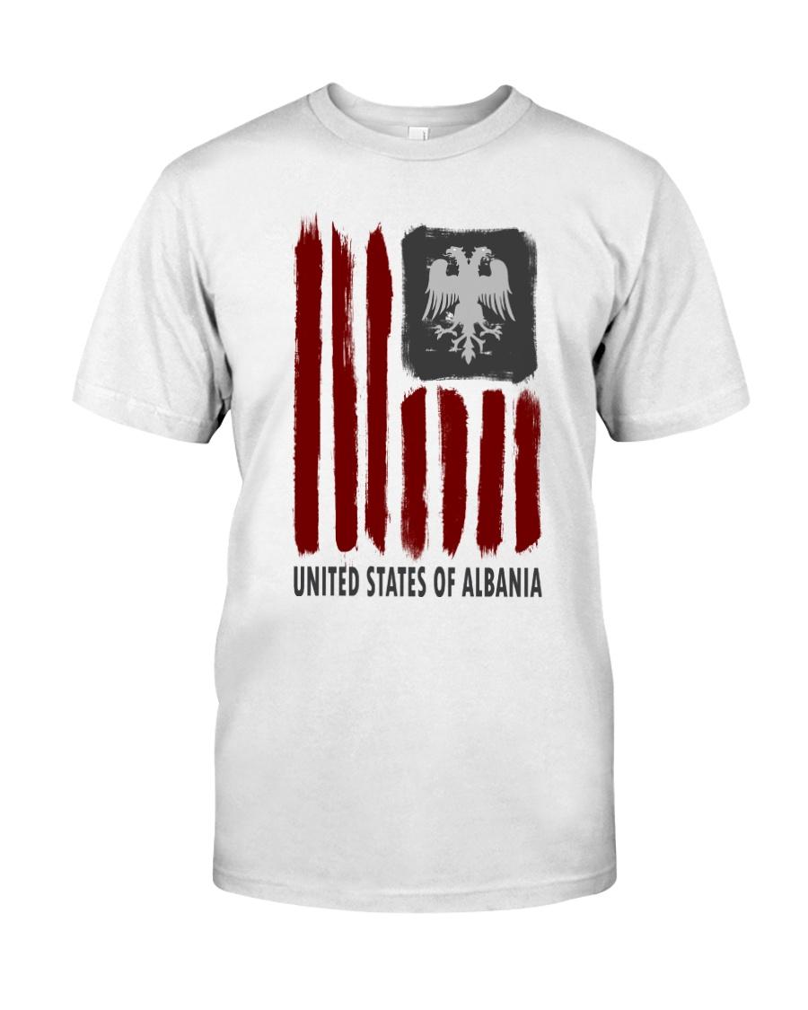 United States of Albania  Premium Fit Mens Tee