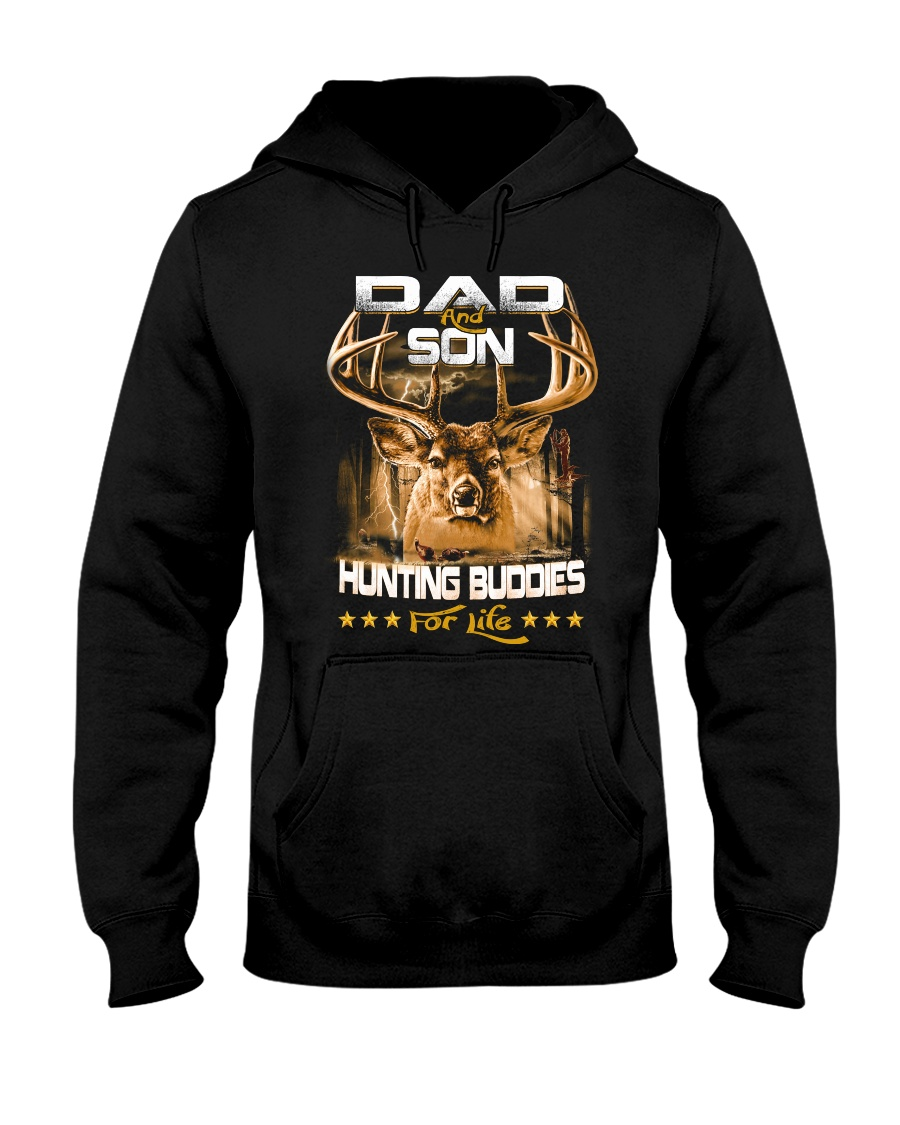 Hunting Buddies for Life Hooded Sweatshirt