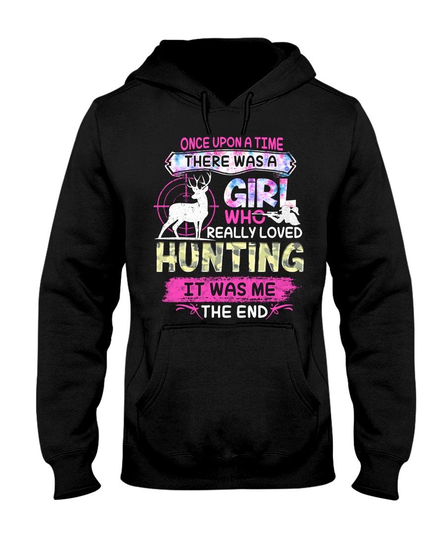 Really love Hunting Hooded Sweatshirt