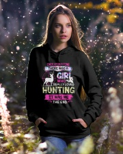 Really love Hunting Hooded Sweatshirt lifestyle-holiday-hoodie-front-5