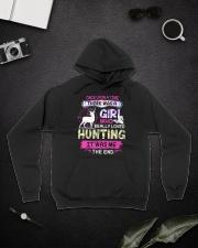 Really love Hunting Hooded Sweatshirt lifestyle-unisex-hoodie-front-9