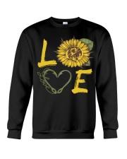 Love  Fishing with sunFlower Crewneck Sweatshirt thumbnail