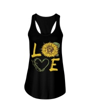 Love  Fishing with sunFlower Ladies Flowy Tank thumbnail