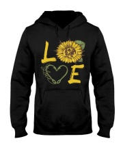 Love  Fishing with sunFlower Hooded Sweatshirt thumbnail