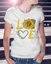 Love  Fishing with sunFlower Premium Fit Ladies Tee lifestyle-women-crewneck-front-7