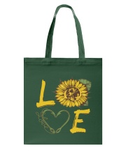 Love  Fishing with sunFlower Tote Bag thumbnail