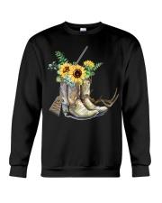 Hunting with sunflower  Crewneck Sweatshirt thumbnail
