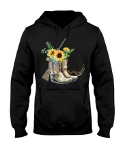 Hunting with sunflower  Hooded Sweatshirt thumbnail