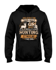 Really love Hunting Hooded Sweatshirt thumbnail