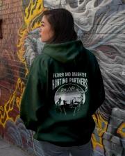 Hunting Partner for life Hooded Sweatshirt lifestyle-unisex-hoodie-back-1