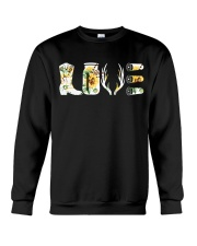Love  Hunting with sunFlower Crewneck Sweatshirt thumbnail