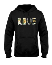 Love  Hunting with sunFlower Hooded Sweatshirt thumbnail