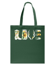 Love  Hunting with sunFlower Tote Bag thumbnail