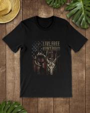 Hunt Hard Classic T-Shirt lifestyle-mens-crewneck-front-18