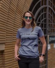 I'm a simple woman Ladies T-Shirt lifestyle-women-crewneck-front-2