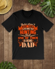 Being DAD hunting Classic T-Shirt lifestyle-mens-crewneck-front-18