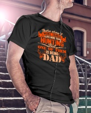Being DAD hunting Classic T-Shirt lifestyle-mens-crewneck-front-5