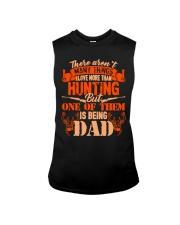 Being DAD hunting Sleeveless Tee thumbnail