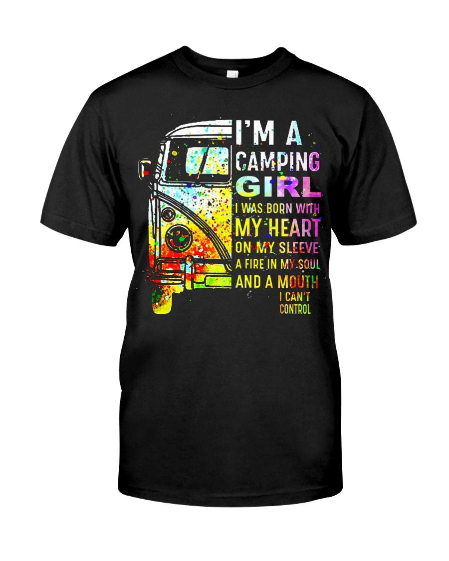 Camping Girl Classic T-Shirt