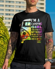 Camping Girl Classic T-Shirt lifestyle-mens-crewneck-front-8