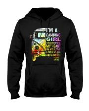 Camping Girl Hooded Sweatshirt thumbnail