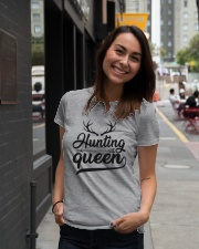 Hunting Queen Premium Fit Ladies Tee lifestyle-women-crewneck-front-5
