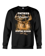 Father and daughter Front Crewneck Sweatshirt tile