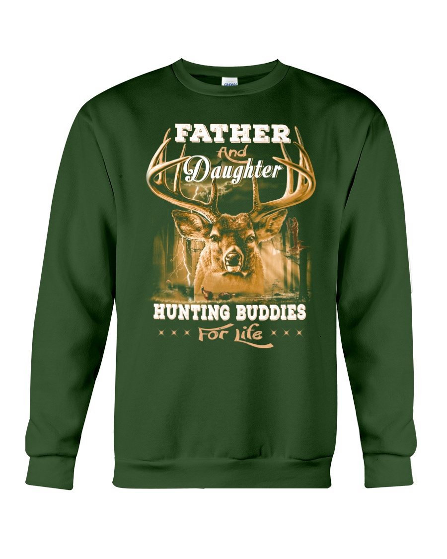 Father and daughter Front Crewneck Sweatshirt