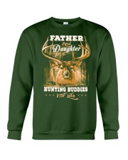Father and daughter Front Crewneck Sweatshirt front