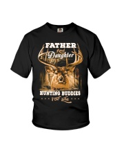 Father and daughter Front Youth T-Shirt thumbnail