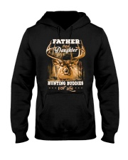 Father and daughter Front Hooded Sweatshirt thumbnail