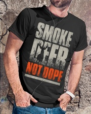Smoke Deer not Dope Classic T-Shirt lifestyle-mens-crewneck-front-4