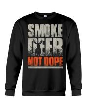 Smoke Deer not Dope Crewneck Sweatshirt thumbnail