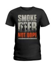 Smoke Deer not Dope Ladies T-Shirt thumbnail