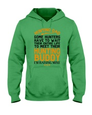 Hunting Dad Hooded Sweatshirt front