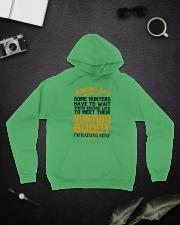 Hunting Dad Hooded Sweatshirt lifestyle-unisex-hoodie-front-9