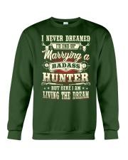 Living the dream Crewneck Sweatshirt front