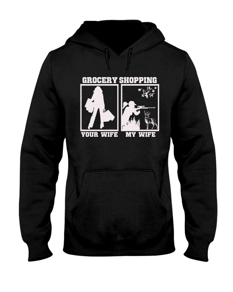 Wife hunting Hooded Sweatshirt