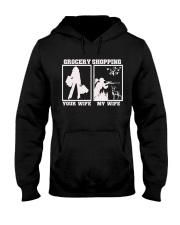 Wife hunting Hooded Sweatshirt front