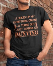Wanna go Hunting Classic T-Shirt apparel-classic-tshirt-lifestyle-26
