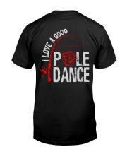 Pole Dance Classic T-Shirt back