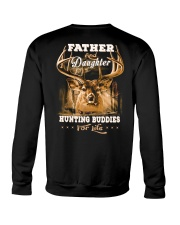 Father and daughter back Crewneck Sweatshirt thumbnail