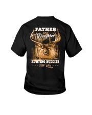 Father and daughter back Youth T-Shirt thumbnail
