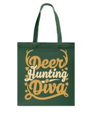 Deer Hunting Diva Tote Bag thumbnail